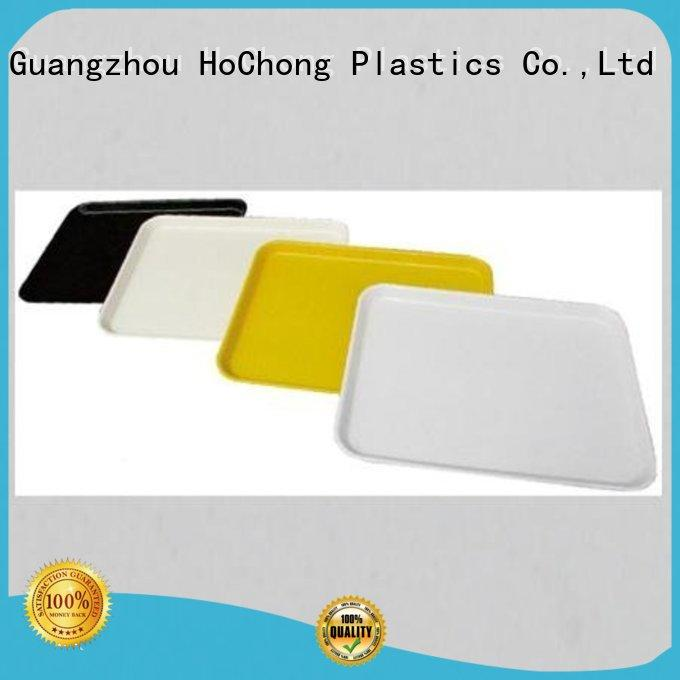 disposable black food trays with color choices for parties