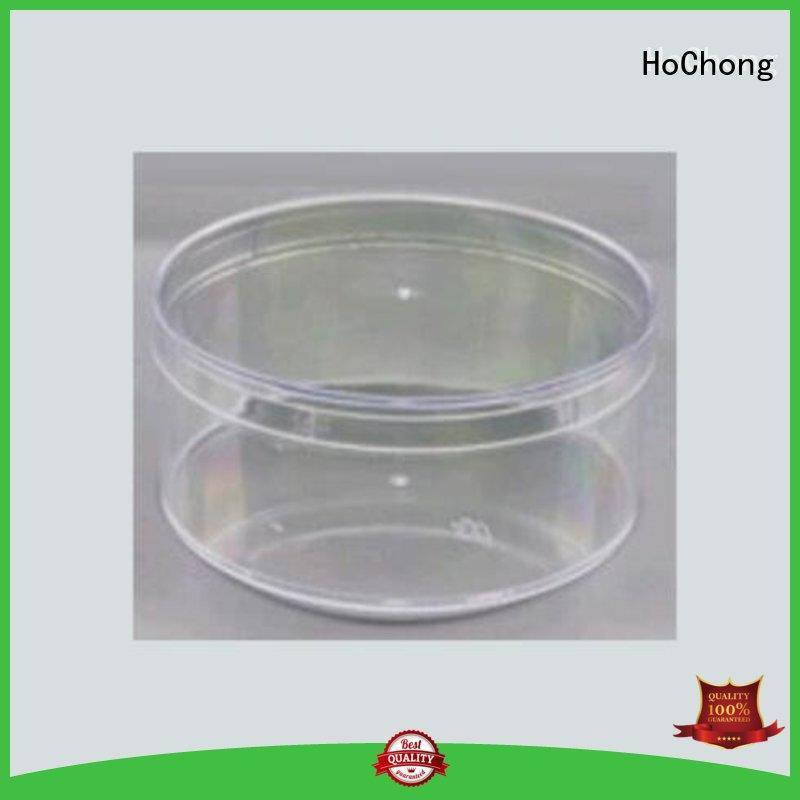 lightweight pet plastic containers seal with high quality for crafts