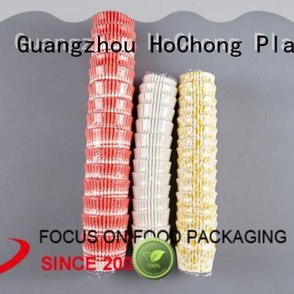 HoChong safety paper snack cups with high quality for holiday party