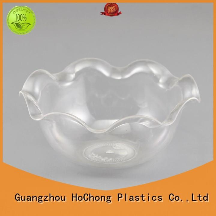 Clear Glass Flower Shaped Ice Cream Cup Sundae Bowl Footed Dessert New