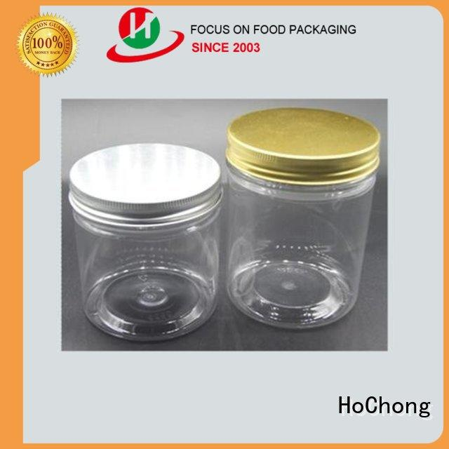 HoChong impact Resistant plastic jars with high quality for powders