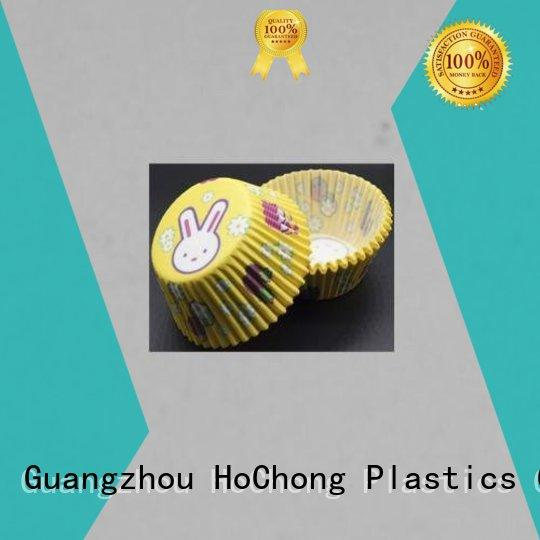 HoChong eco-friendly paper baking cups wholesale with elegant cupcake liners for hot and cold appetizers