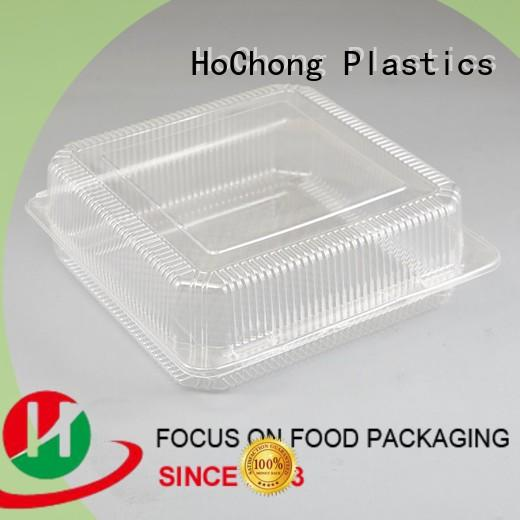 HoChong safety plastic sandwich container pastry for food