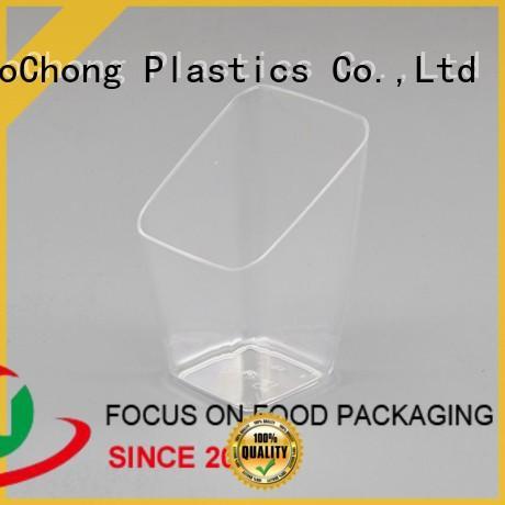 HoChong pie plastic individual dessert cups fit your needs for restaurant & kitchen supplies