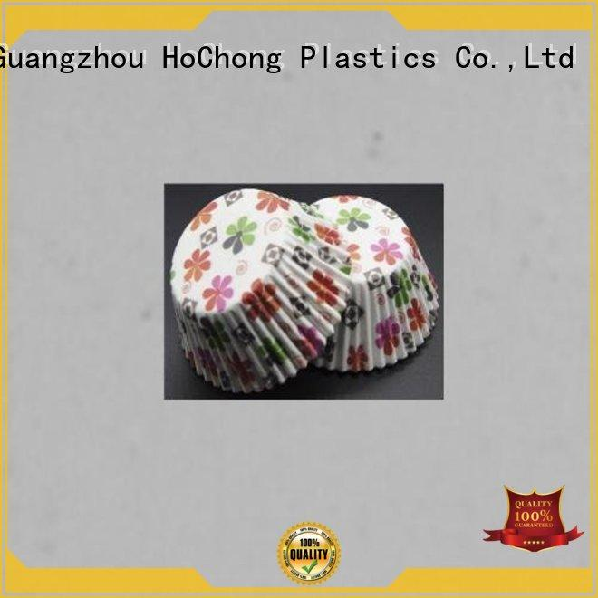 HoChong Brand cupcake diy oven bakery case ripple