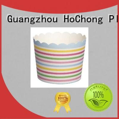 HoChong disposable ice cream cups with elegant cupcake liners for baby shower
