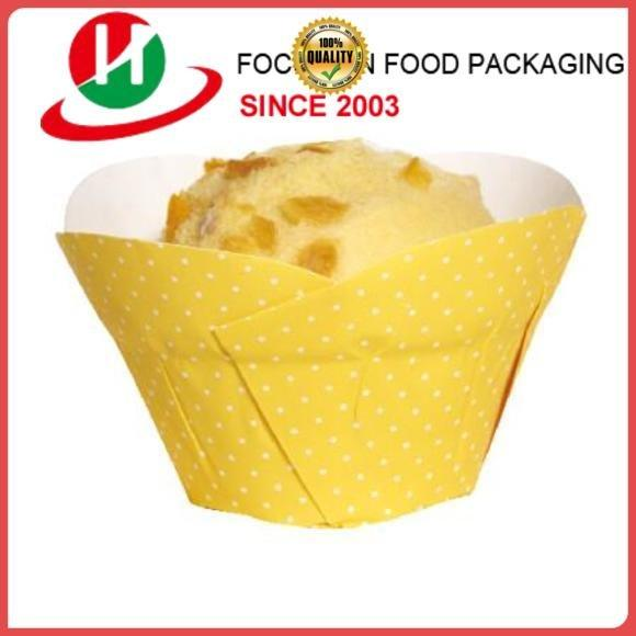 HoChong Brand greaseproof leaf baking cups 655040mm tray