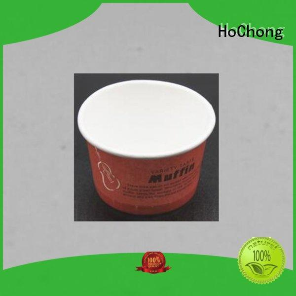 HoChong disposable paper ice cream cups wholesale design for holiday party