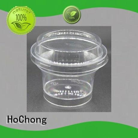 HoChong available plastic dessert shooter cups with high quality for carnival, birthday