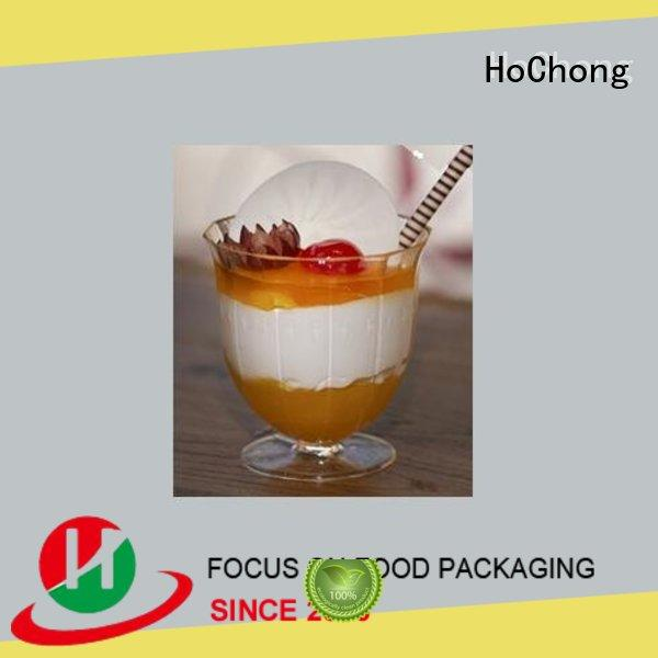 HoChong clear hard plastic party cups fit your needs for restaurant & kitchen supplies