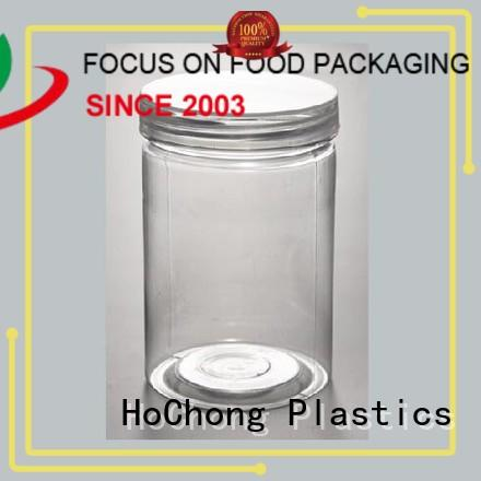 HoChong air-tight plastic jar set with high quality fro nuts