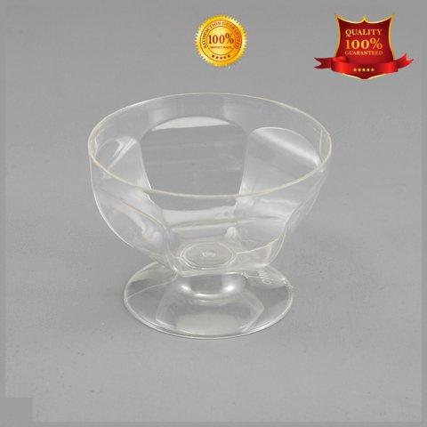 HoChong Brand round mousse plastic wine cups bowls shape
