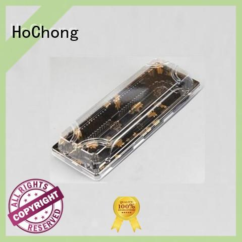 HoChong case cupcake dome containers resistant to wear for taking out