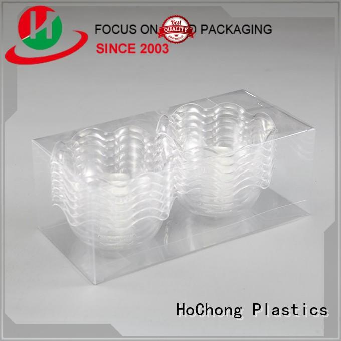 HoChong disposable pet plastic jars with high quality for holiday party