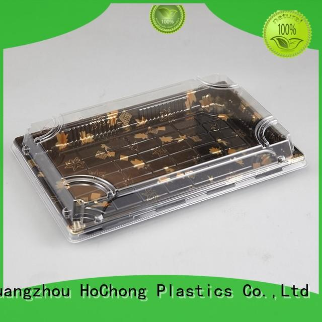 HoChong pie plastic sushi tray fit your needs