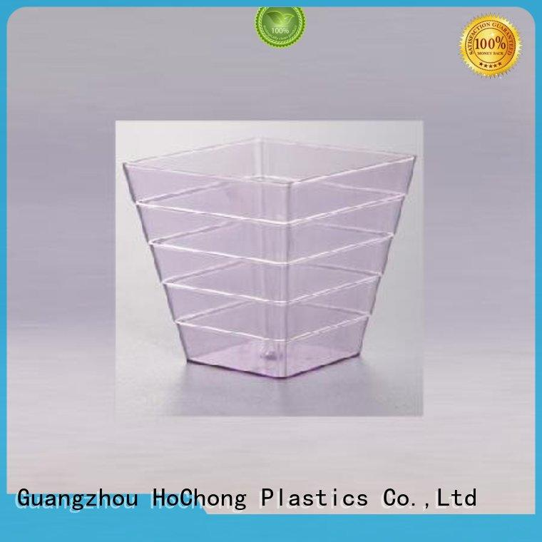 available small plastic dessert cups pentagram with high quality for restaurant & kitchen supplies