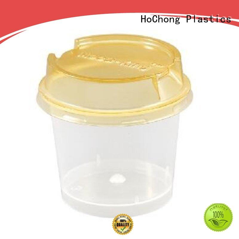 HoChong disposable plastic serving cups fit your needs for weddings