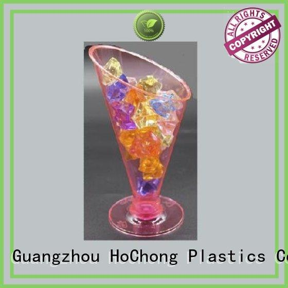HoChong food clear party cups with high quality for wedding