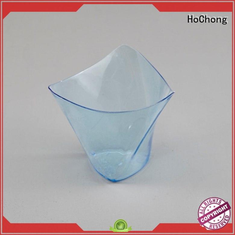 HoChong milk 2 oz plastic cups with lids for wedding