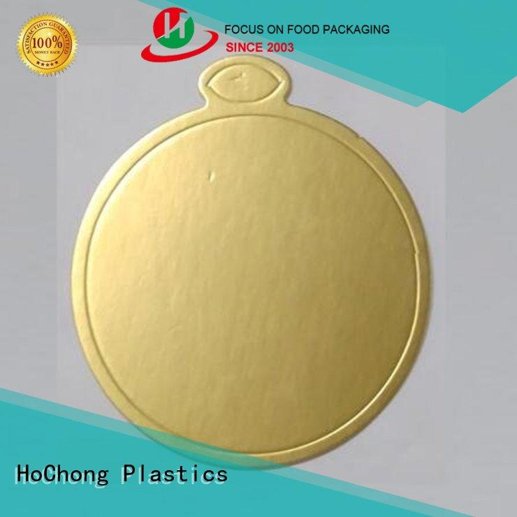 HoChong professional dinner trays with various shapes for indoor/outdoor