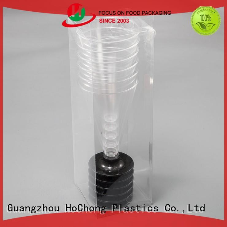HoChong disposable paper snack cups with high quality for wedding