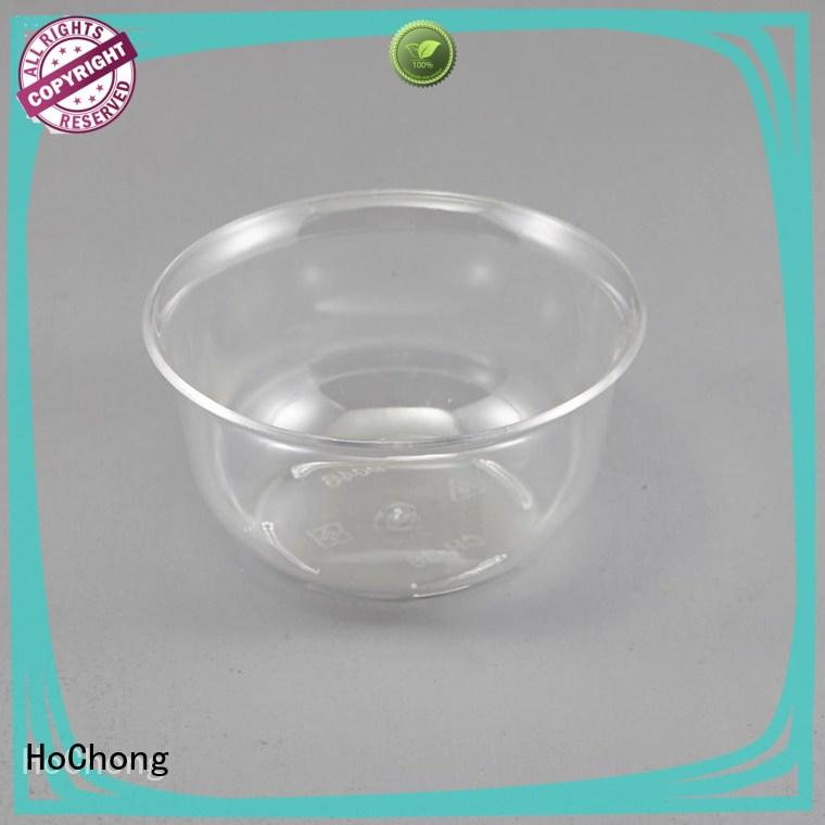 disposable plastic dessert cups showing with octagonal style for family gathering