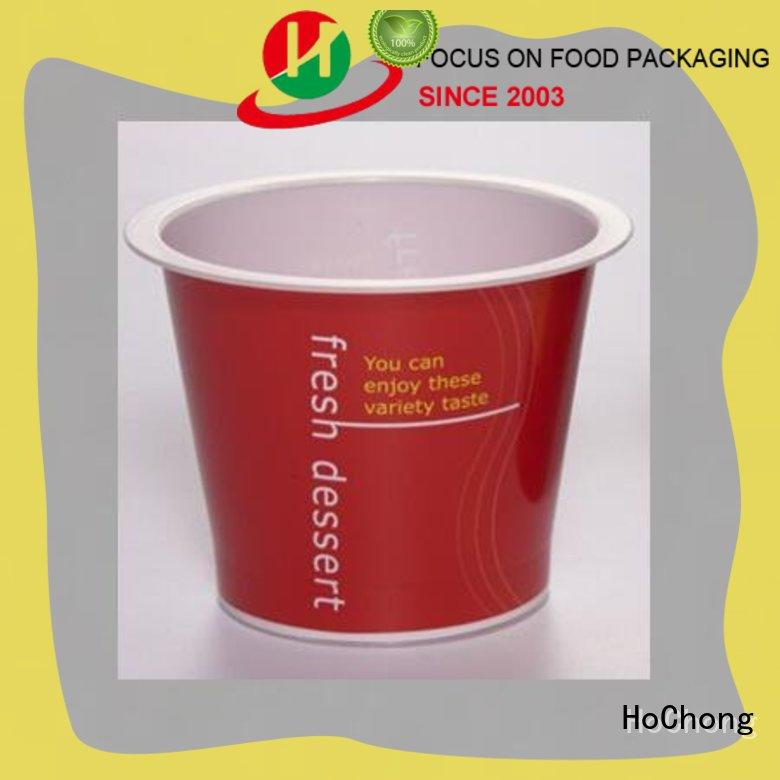 disposable mousse cups plastic adv with octagonal style for outdoor party