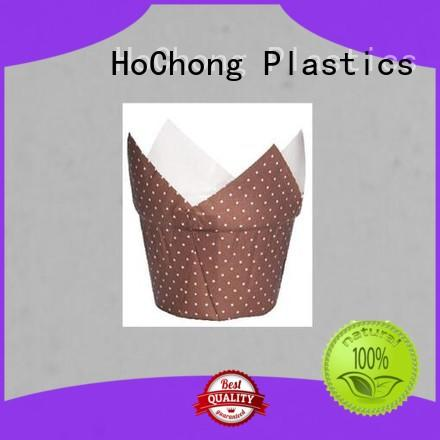 HoChong disposable plastic cupcake boxes with high quality for birthday