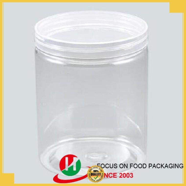 plastic jars with lids salad gold pet plastic jars pot company