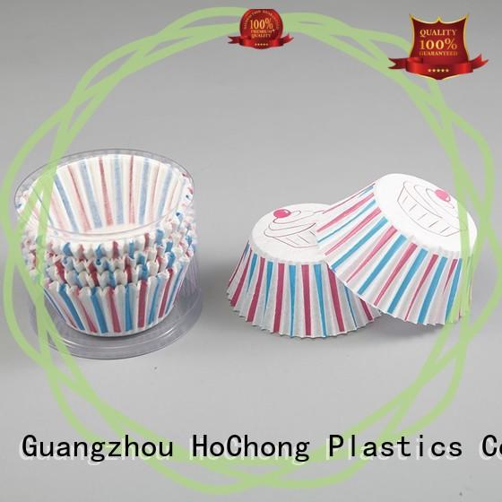 HoChong disposable muffin top baking cups with high quality for cakes