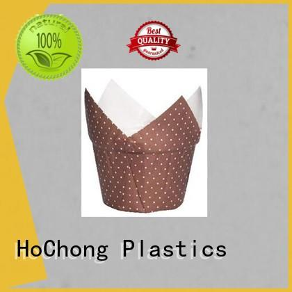 HoChong packing plastic cupcake cases with high quality for holiday party